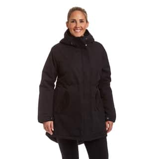 Champion Women's Plus Sherpa Lined Hooded Parka|https://ak1.ostkcdn.com/images/products/18016192/P24185381.jpg?impolicy=medium