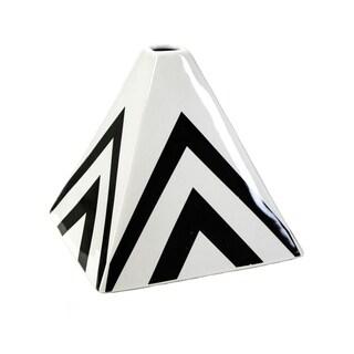 Sagebrook Home-Pyramid Décor, Black