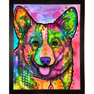 """Corgi II Framed Print 10.25""""x8"""" by Dean Russo (2 options available)"""