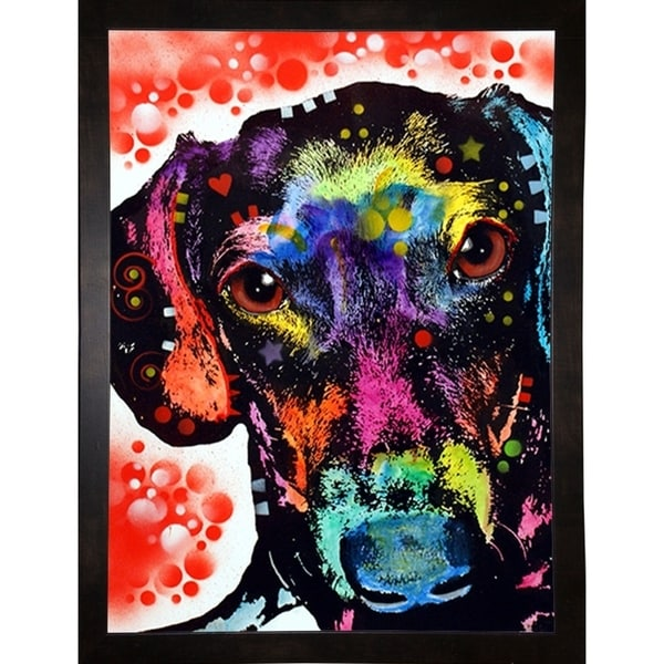 """Dox Framed Print 7.25""""x5.25"""" by Dean Russo"""