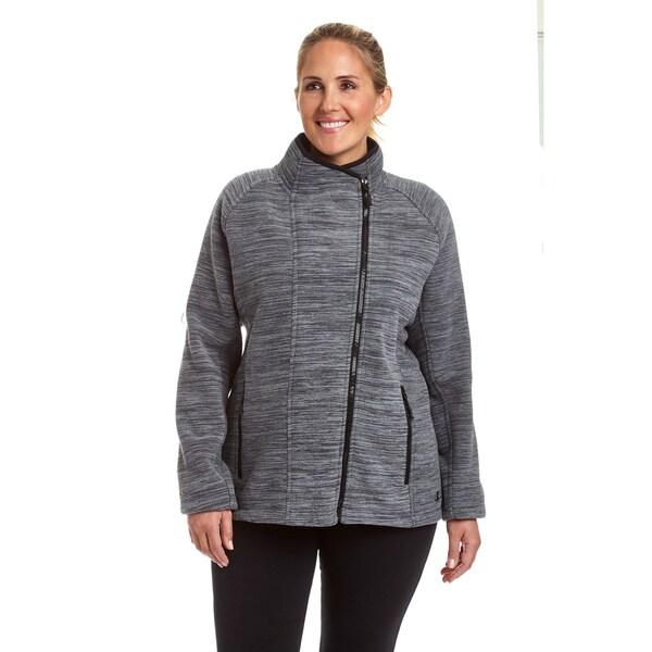 34fb958c985 Shop Champion Women s Plus Sherpa Lined Fleece Jacket - Free ...