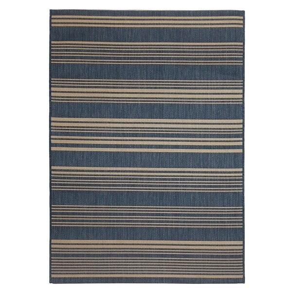 Fab Habitat Essentials Indoor/Outdoor Weather Resistant Floor Mat/Rug Newport - Stripe