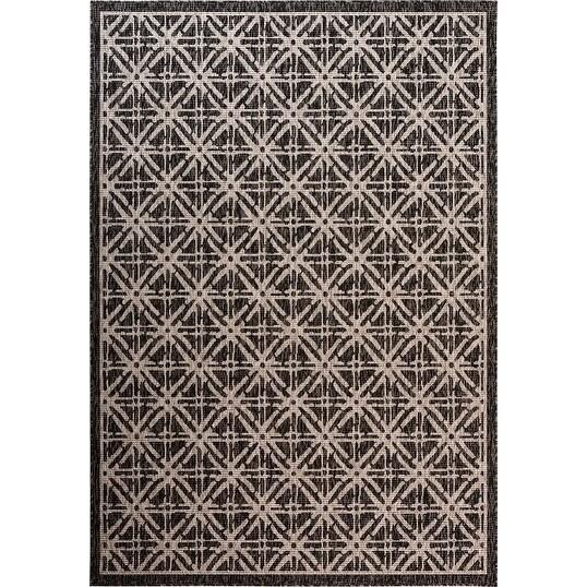 Fab Habitat Essentials Indoor Outdoor Weather Resistant Floor Mat Rug Cambridge Diamond