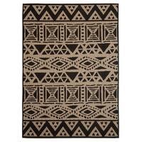 Fab Habitat Essentials Indoor/Outdoor Weather Resistant Floor Mat/Rug Serengeti - Art