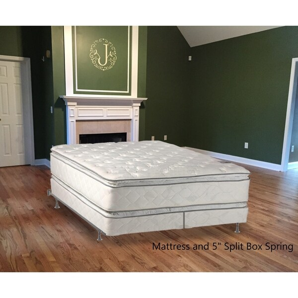 shop continental sleep medium plush pillowtop orthopedic type doublesided mattress and 5 inch. Black Bedroom Furniture Sets. Home Design Ideas