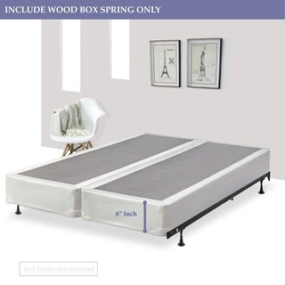 Continental Sleep 8-Inch Split Foundation Box Spring for Mattress