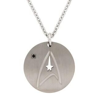 Titanium Starfleet Comand Pendant