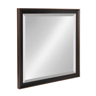 Kate and Laurel Havana Framed Beveled Wall Mirror - Antique Bronze (3 options available)
