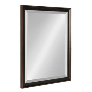 Kate and Laurel Havana Framed Beveled Wall Mirror - Antique Bronze