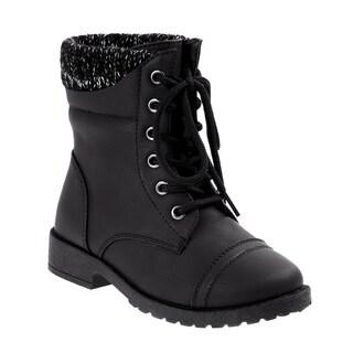 Josmo girl combat boots