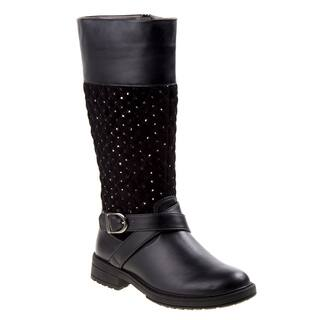 Kensie Girl tall boot w/quilt|https://ak1.ostkcdn.com/images/products/18016472/P24185542.jpg?impolicy=medium
