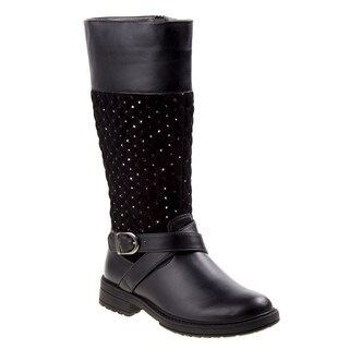 Kensie Girl tall boot w/quilt