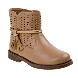 Laura Ashley girl low boot w/tassel.