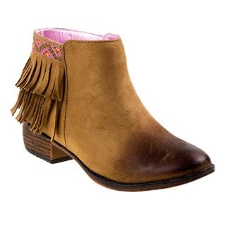 Nanette Lepore girl short boots w/fringe