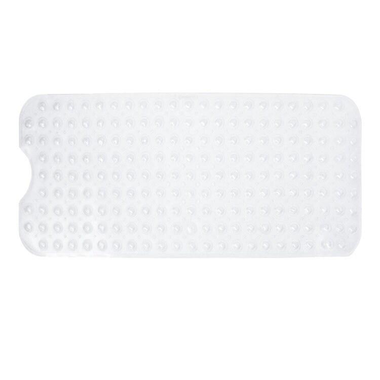 Shower Non Slip Extra Long Mat Suction Grip /& Machine Washable Bath