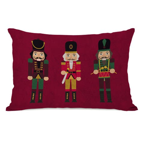 Nutcrackers - Multi 14x20 Throw Pillow by One Bella Casa