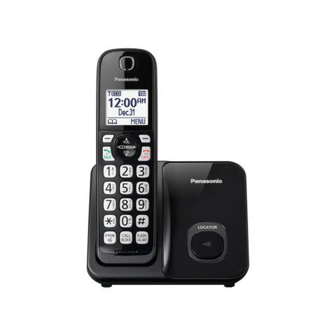 Panasonic KX-TGD510B DECT 6.0 1.93 GHz Cordless Phone - Black