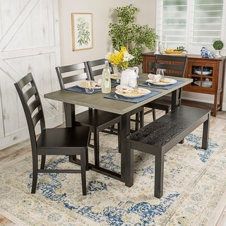 Madison 6-Piece Wood Dining Set (2 options available)
