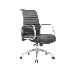 TGEG Conference Mid Back Multi Function Office Chair, Black