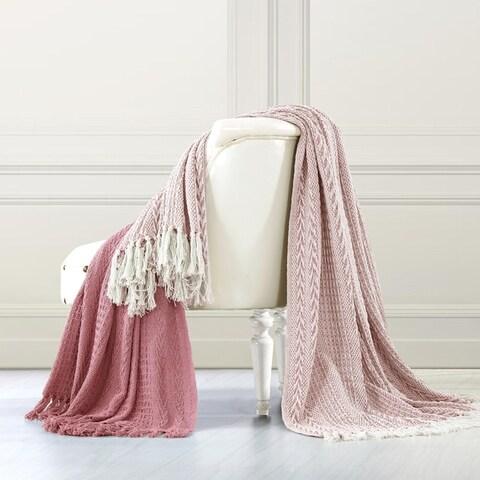 Amrapur Overseas Batik 100-Percent Cotton 2 Pack Throw Blanket