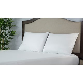 Protect-A-Bed ALLERZIP Smooth QUEEN Pillow Encasement 4 PACK - White