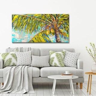 Ready2HangArt 'Natural Heat' by Sarah LaPierre Canvas Wall Decor - Green