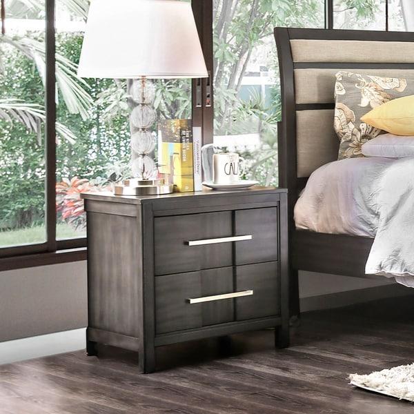 Overstock Clearance Furniture: Shop Furniture Of America Telke Contemporary Wood Veneer 2