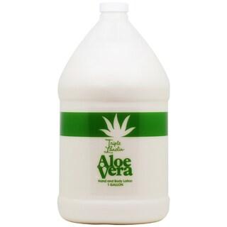 Triple Lanolin Aloe Vera 1-gallon Hand and Body Lotion