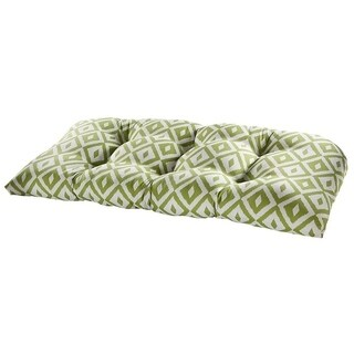 Aztec Verde Outdoor Settee Cushion