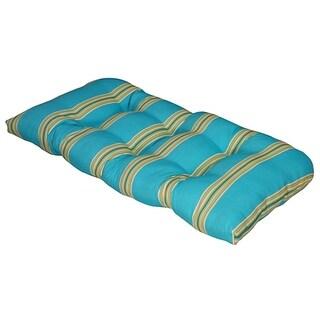 Cabana Stripe Capri Outdoor Settee Cushion