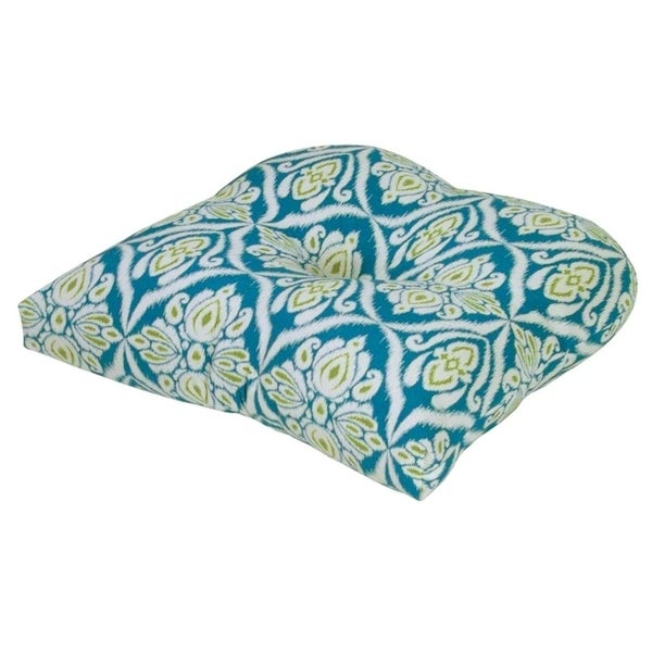 Shop Jaipur Peacock Outdoor Chair Cushion Free Shipping Today