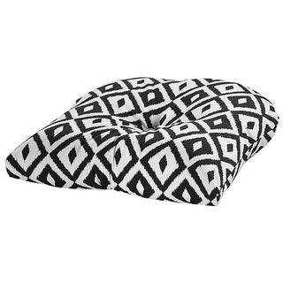 Aztec Black Outdoor Chair Cushion
