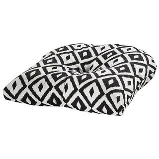 Aztec Black Outdoor Chair Cushion