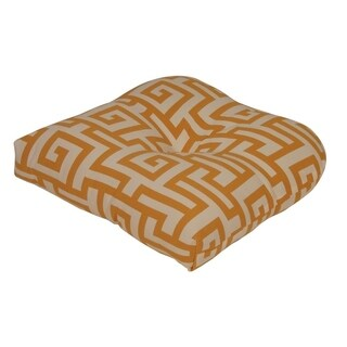 Athens Yellow Outdoor Chair Cushion