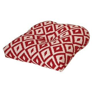 Aztec Chili Pepper Outdoor Chair Cushion