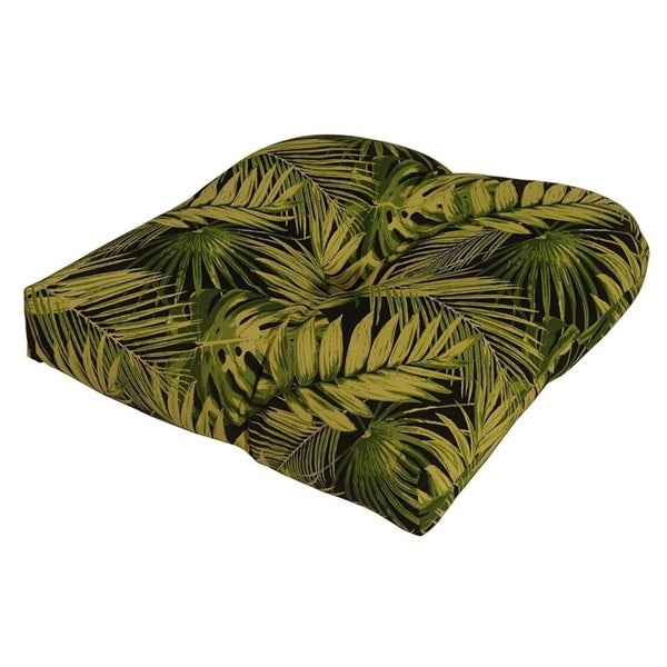 Shop Tropica Ebony Outdoor Chair Cushion Free Shipping On Orders