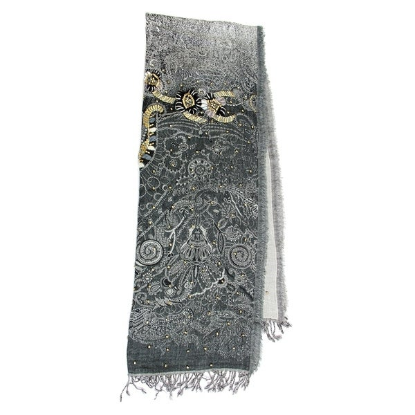 9542d0945c0 Handmade Saachi Designer Embroidery Scarf (India)