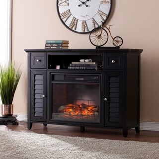 Gracewood Hollow Blacksnake 3-in-1 Infrared Media Fireplace Console