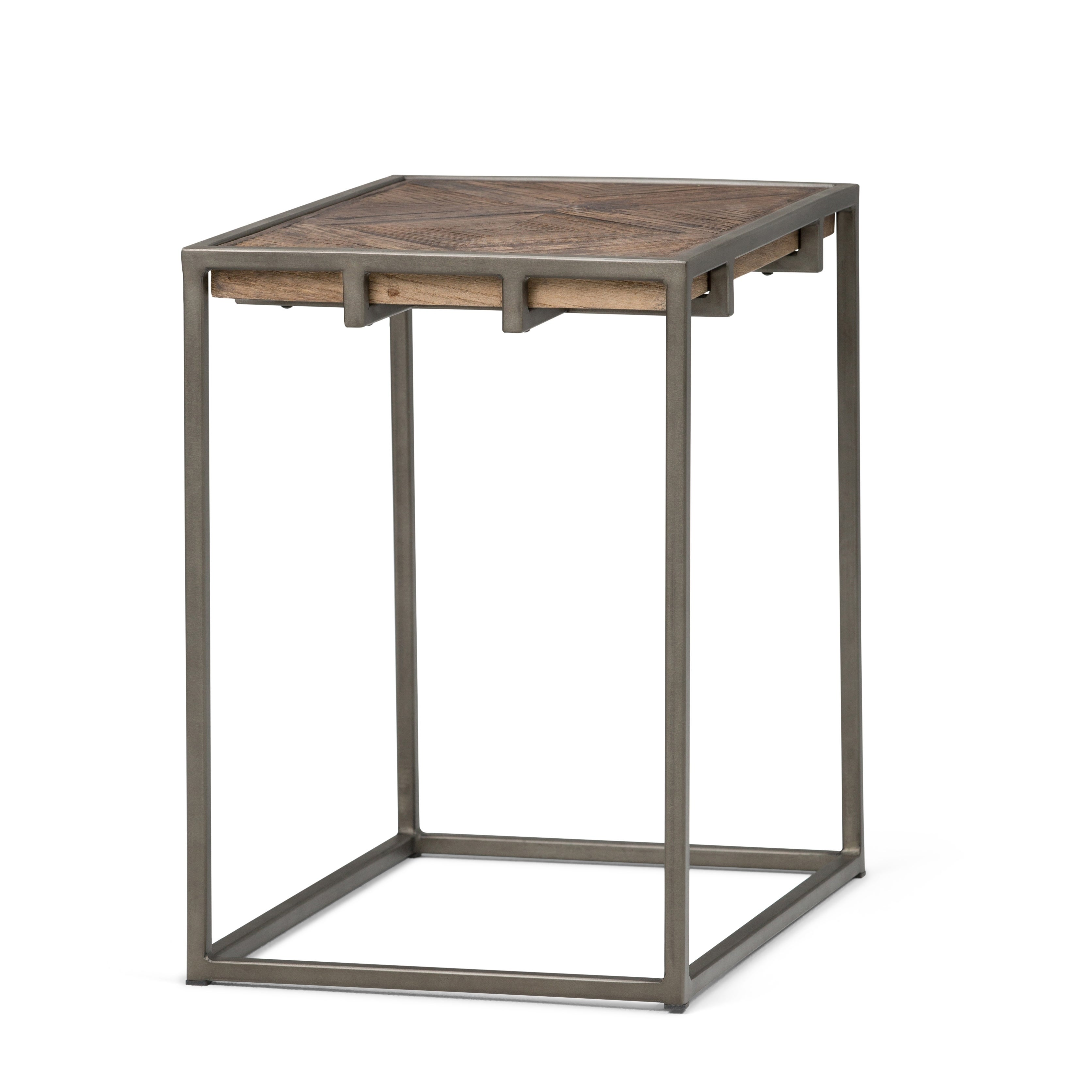 - Shop WYNDENHALL Abigail SOLID AGED ELM WOOD And Metal 14 Inch Wide