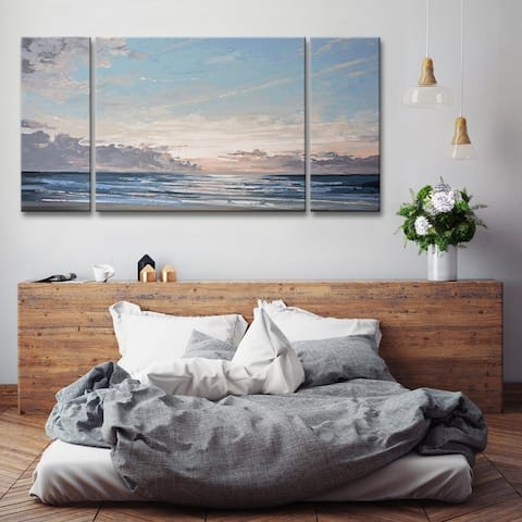 Ready2HangArt 'Into the Mystic' 3-Pc Coastal Canvas Wall Art Set