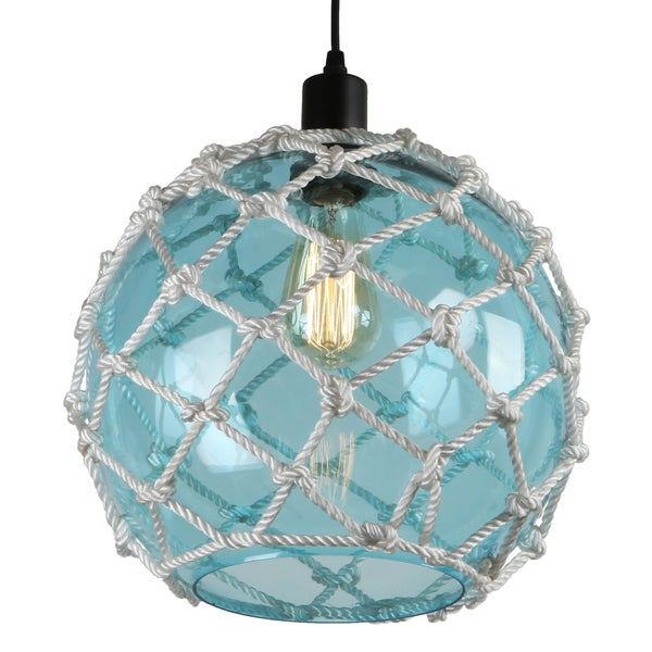 journee lighting. Journee Home \u0026#x27;Nura\u0026#x27; 8 In Hard Wired Glass Hemp Lighting