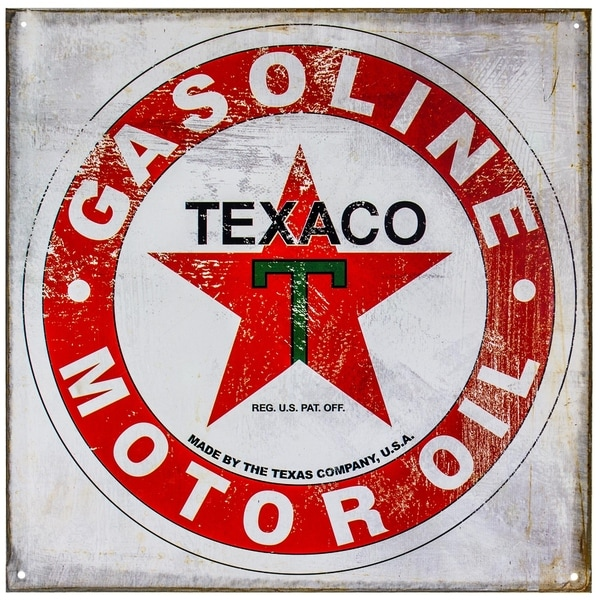 Shop Vintage Texaco Metal Sign Wall D 233 Cor Free Shipping