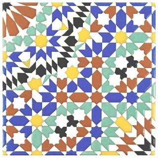 SomerTile 7.875x7.875-inch Hispalence Andalusia Ceramic Wall Tile (25/Case, 11.46 sqft.)