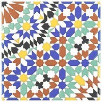 SomerTile 7.875x7.875-inch Hispalence Andalusia Ceramic Wall Tile (25 tiles/11.46 sqft.)