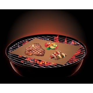 2 pack Copper BBQ Grill Mat