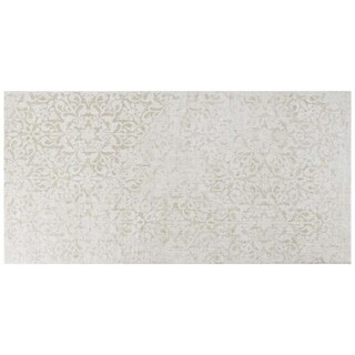 SomerTile 11.75x23.625-inch Cassi Natural Decor Porcelain Floor and Wall Tile (6/Case, 11.94 sqft.)
