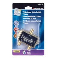 Monster Cable  TV Antenna Cable Switch