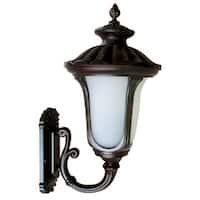 Nuvo Boxwood 1 Light Rustic Bronze 16 Inch Wall Sconce