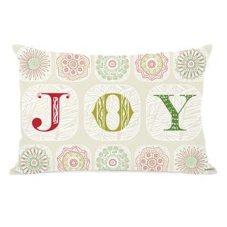 Boho Joy 14x20 Throw Pillow by OBC