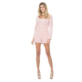 Sara Boo Button Front Romper (More options available)